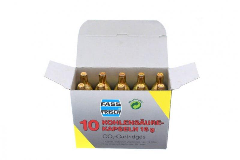 CO2-Kapseln 16 g - 10er Packung