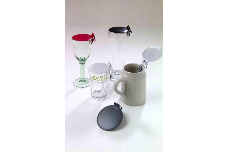 universeller bierglas deckel wei 1 99. Black Bedroom Furniture Sets. Home Design Ideas