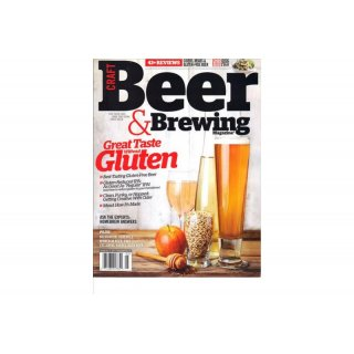 Craft Beer & Brewing Magazine - April - May  2015 - available in English