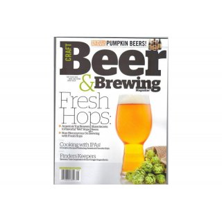 Craft Beer & Brewing Magazine - August - September  2015 - available in English