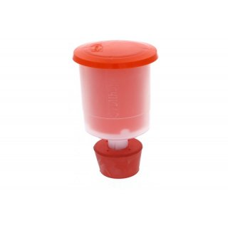 Fermentation spigot (impact-proof) and bung for Speidel container 30 and 60 litre