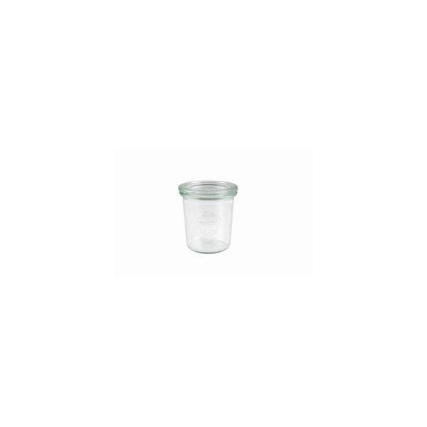 WECK® mini fall glass 140ml (round border 60) - 12 pcs.
