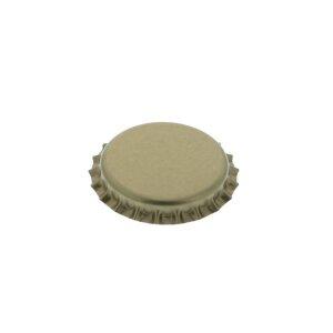 Kronenkorken 26 mm - GOLD, 100 Stück