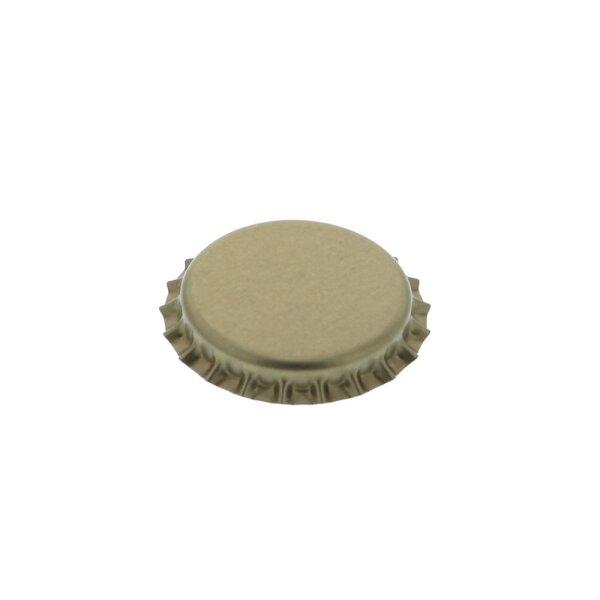 Crown caps 26 mm - GOLD, 500 pieces