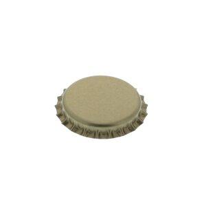 Kronenkorken 26 mm - GOLD, 500 Stück