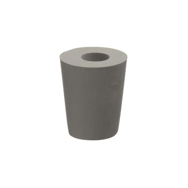 Rubber bung (34/41/35) for fermenting cask 40 litre (orange lid)