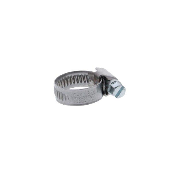 Schneckengewindeschelle / Schlauchschelle Edelstahl 12 - 20 mm