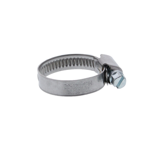 Worm drive hose clip / stainless steell 20 - 32 mm
