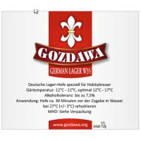 GOZDAWA GLW35 - bottom-fermented dry yeast 10 g