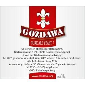 GOZDAWA PAY7 - top-fermented dry yeast 10g