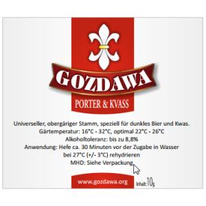 GOZDAWA POK V - top-fermented dry yeast  10 g