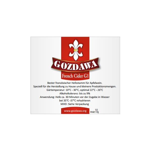 GOZDAWA FCG1 - top-fermented dry yeast 10 g