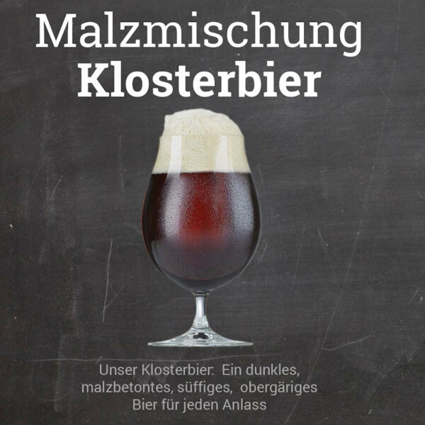 "Malt Mix ""Klosterbier"" - crushed"