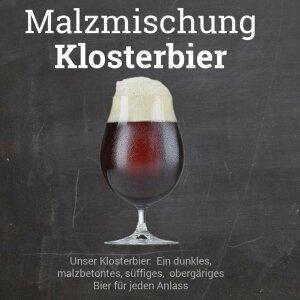 """Malzmischung """"Klosterbier"""" KLEIN - geschrotet"""