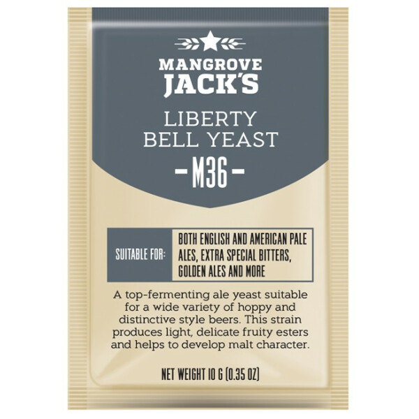 Mangrove Jack's M36 - Liberty Bell Ale 10 g