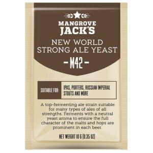 Mangrove Jacks M42 - New World Strong Ale 10 g