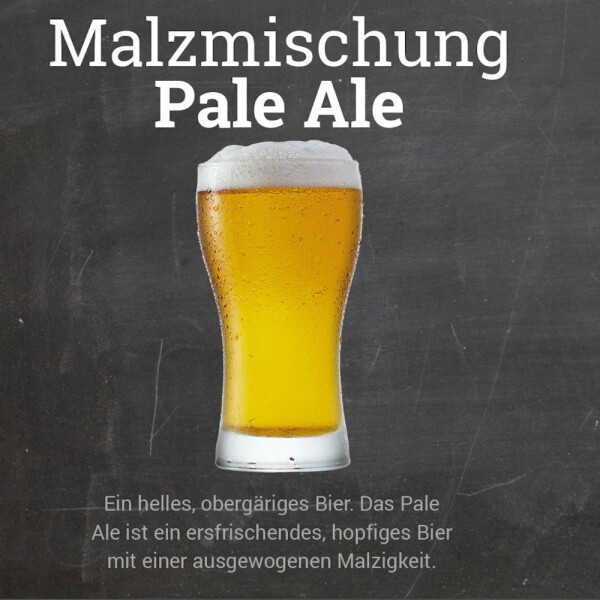 Malzmischung Pale Ale