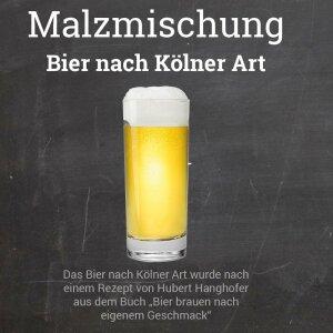 """Malzmischung """"Bier nach Kölner Art"""""""