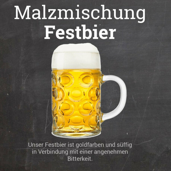 "Malt Mix ""Festbier"" - warm fermenting - crushed"