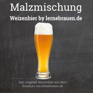 Malt Mix  Wheat beer  by lernebrauen.de