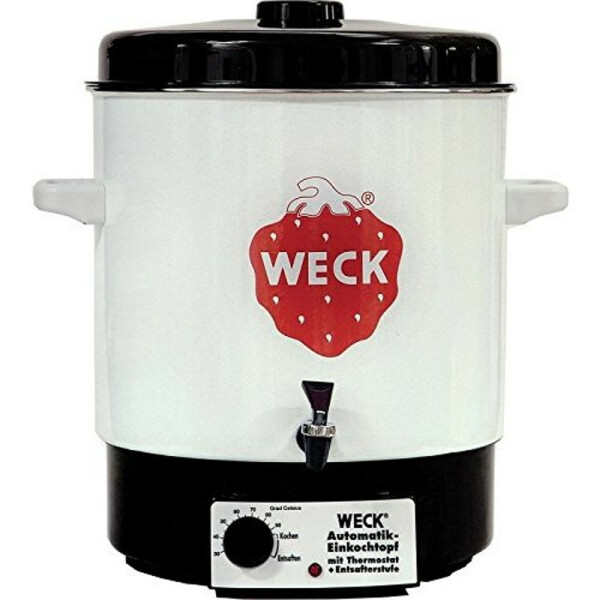 WECK ® Automatic Preserving Cooker / Hot Wine Punch Pot type WAT 14.A