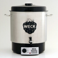 WECK ® Automatic Preserving Cooker / Hot Wine Punch Pot typel WAT 24 A