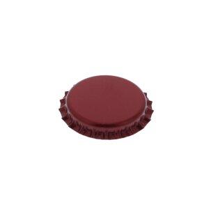 Crown caps 26 mm - Burgundy, 500 pieces