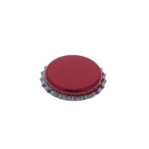 Crown caps 26 mm - Magenta, 500 pieces