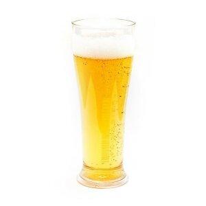 Weizenbierglas 0,5 Liter aus Kunststoff