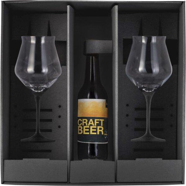 Eisch Craft Beer Kelch Black - 2 Stück im Geschenkkarton Cuvée