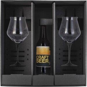 Eisch Craft Beer Bowl Black -  2 pieces in gift box...
