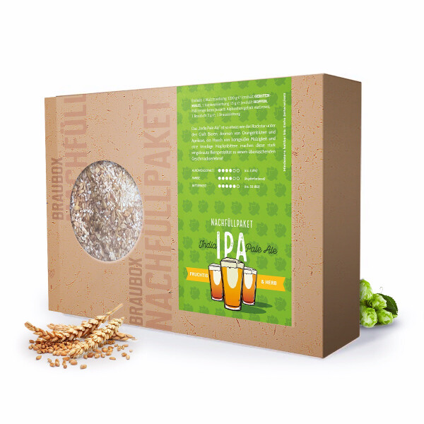 """Besserbrauer Nachfüllpaket """"India Pale Ale (IPA)"""" für Besserbrauer Braubox"""
