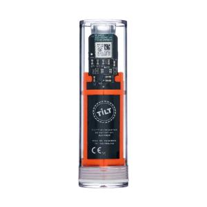 Tilt Hydrometer / Thermometer Orange