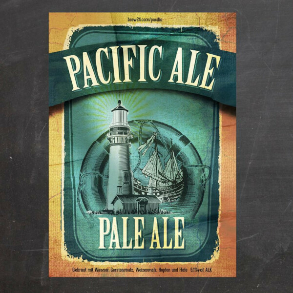 Malzmischung Pacific Ale