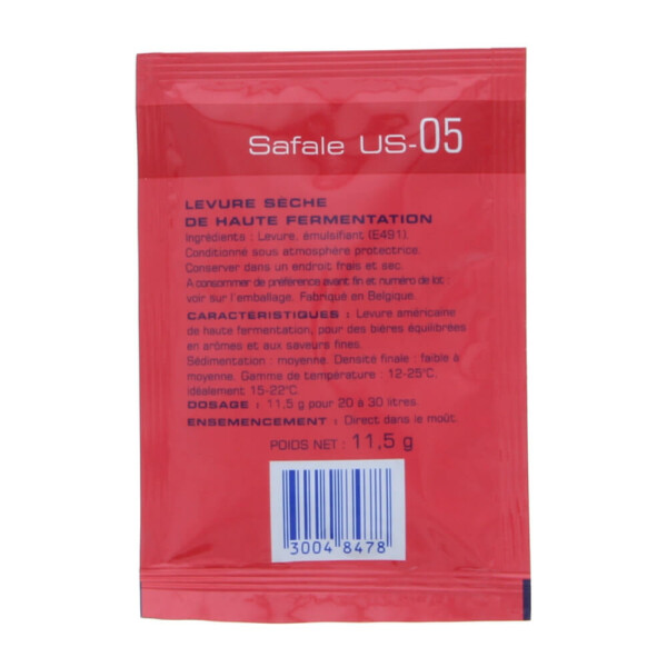 Safale US-05, 38er Packung
