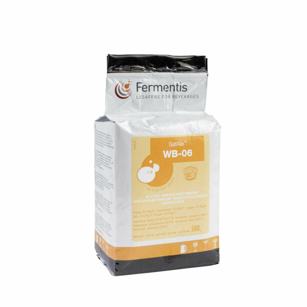 Safale WB-06, top-fermented dry yeast 500 g