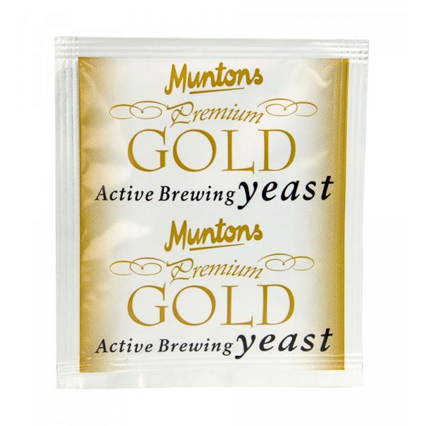 Muntons Premium Gold yeast - 6g