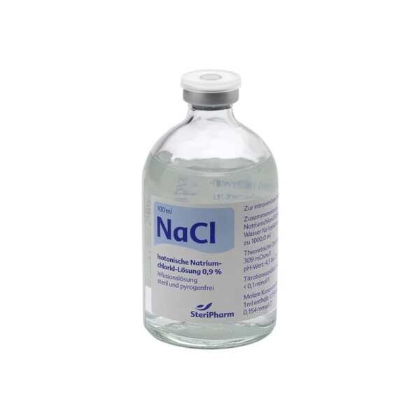 Isotonic common salt solution 0,9% - 100 ml