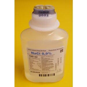 Isotonische Kochsalzlösung 0,9% - 100 ml