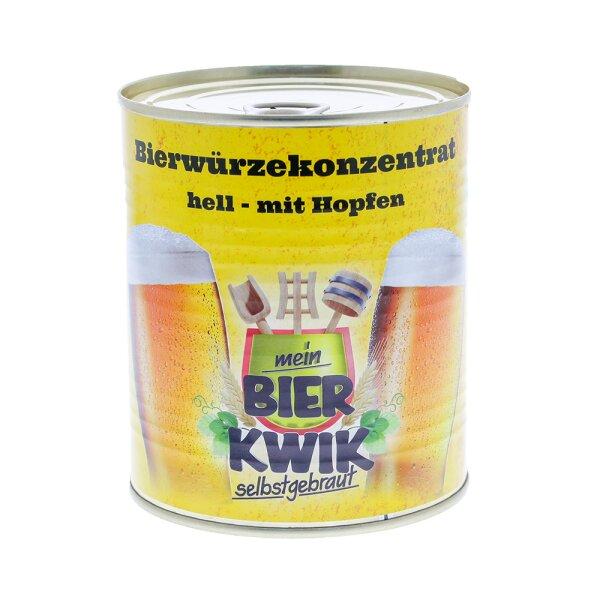 Bierwürze-Konzentrat HELL, gehopft  5 kg (5 x Art. BK-01-40)