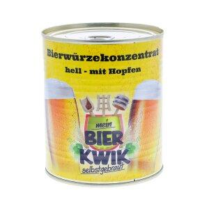 Bierwürze-Konzentrat HELL, gehopft  5 kg (5 x Art....