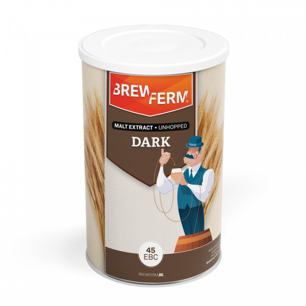 Brewferm liquid malt extract, dark, unhopped - 1,5 kg