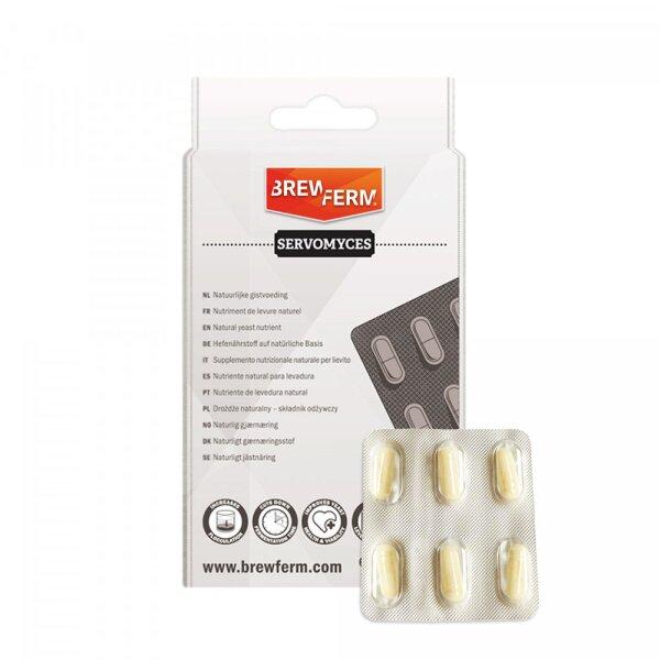 Servomyces Hefenährstoff - 6er Blister