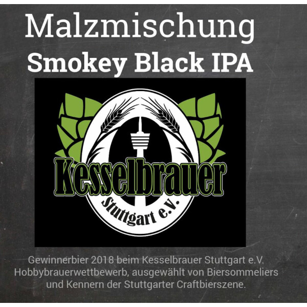 Malt Mix Smokey Black IPA