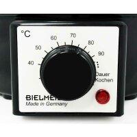BIELMEIER Einkochautomat 9 Liter Edelstahl BHG 990.1