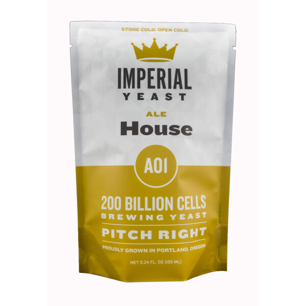 Imperial Yeast A01 House Ale - Flüssighefe