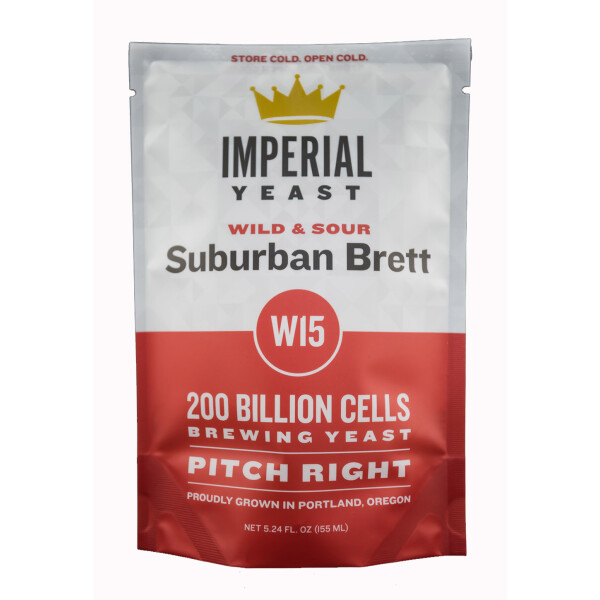 Imperial Yeast W15 Suburban Brett Wilds & Sours - Flüssighefe