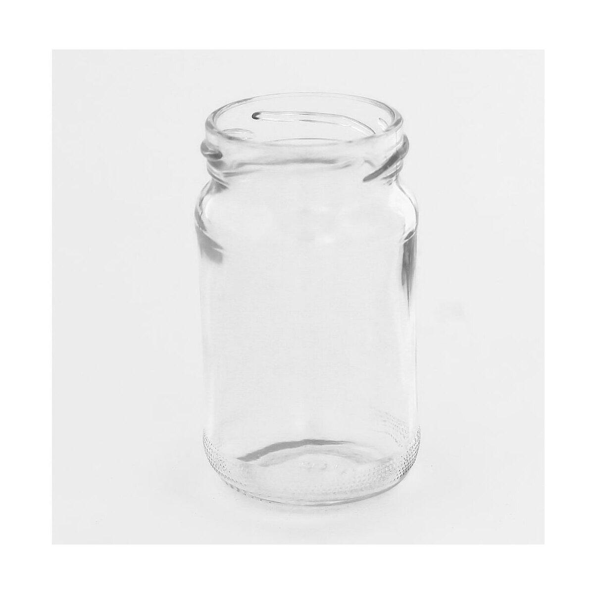 Rundglas 107 ml mit Schraubverschluss