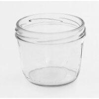 Sturzglas 230 ml für Schraubverschlussdeckel