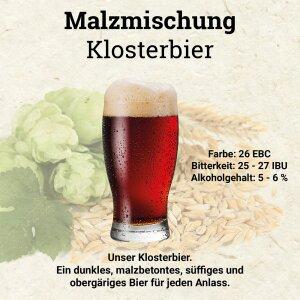 HUBL Malzmischung Klosterbier - 30 Liter